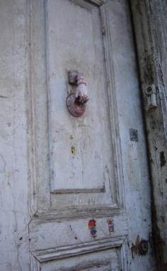 Ottoman door; Afyon, Turkey. Photo by Bronwyn Mills